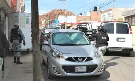 ¡De 7 balazos ejecutaron a policía estatal comisionado a la METROPOL en Guadalupe!