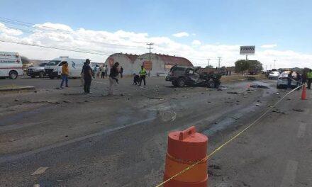 ¡3 hermanas de Picones, Zacatecas, murieron en espantoso accidente en Aguascalientes!