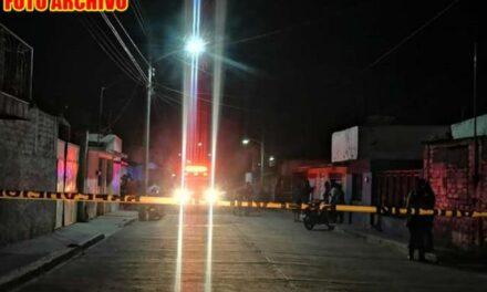 ¡Tras agresión armada ejecutaron a un hombre e hirieron a otro en Calera!