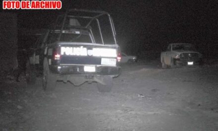 ¡Maniataron y ejecutaron a un hombre con arma de fuego corta en Morelos!