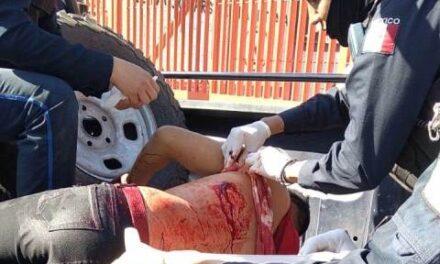 ¡Cargador del Agropecuario en Aguascalientes fue apuñalado de gravedad por un carnicero!