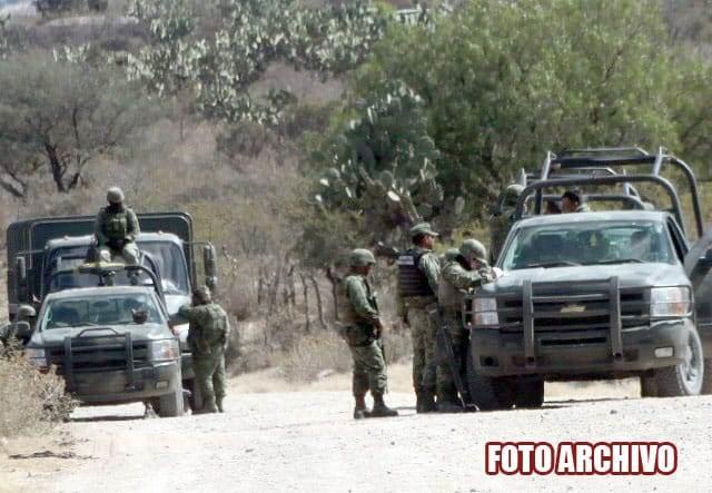 ¡Enfrentamiento en Santa Rosa, Fresnillo, dejó delincuentes abatidos!