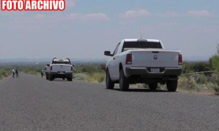 ¡Hallaron a 2 hombres ejecutados en una carretera en Zacatecas!