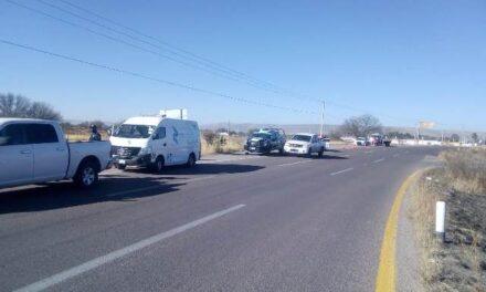 ¡Joven se mató tras accidente de motocicleta en Rincón de Romos, Aguascalientes!