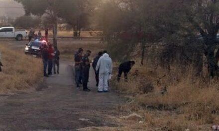¡Asesinaron a una mujer y tiraron su cuerpo encobijado en Aguascalientes!