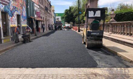 ¡Rehabilita Municipio calles del Barrio de San Marcos!