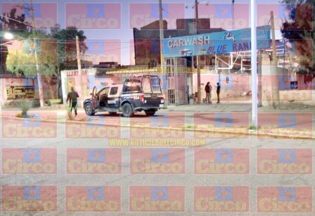¡Intentaron ejecutar a un hombre en un autolavado en Fresnillo y quedó herido!