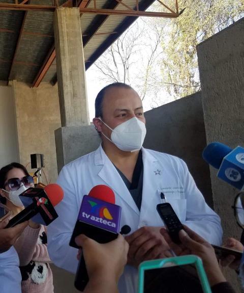 ¡Estrategia de vacunación en el sector salud debe cambiar para proteger a todo el personal médico: Leonardo López Almejo!