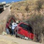¡Ancianito murió tras accidentarse en su camioneta en Loreto!