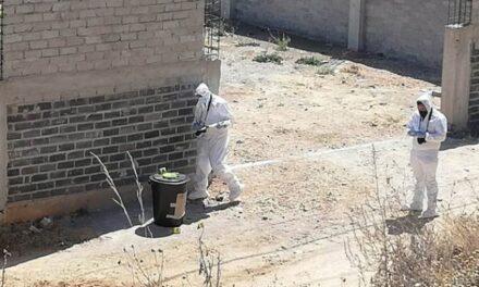 ¡Hallaron restos humanos dentro de un tambo y narco-mensajes en Zacatecas!
