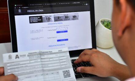 ¡Aumenta participación ciudadana en pago de predial por medios electrónicos!