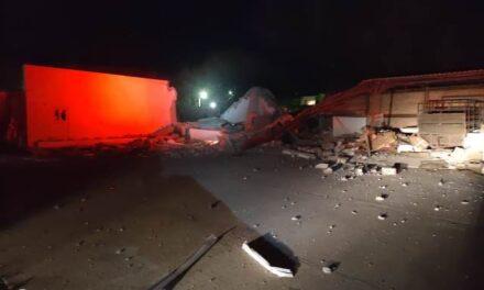 ¡Explosión acabó con un laboratorio en Aguascalientes!