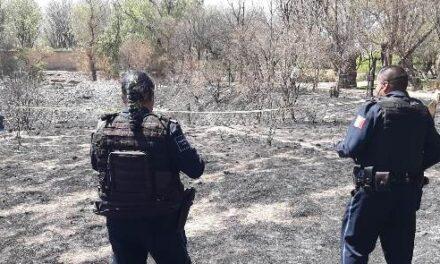 """¡Hallaron a una persona calcinada en un rancho en """"San Pancho"""" en Aguascalientes!"""
