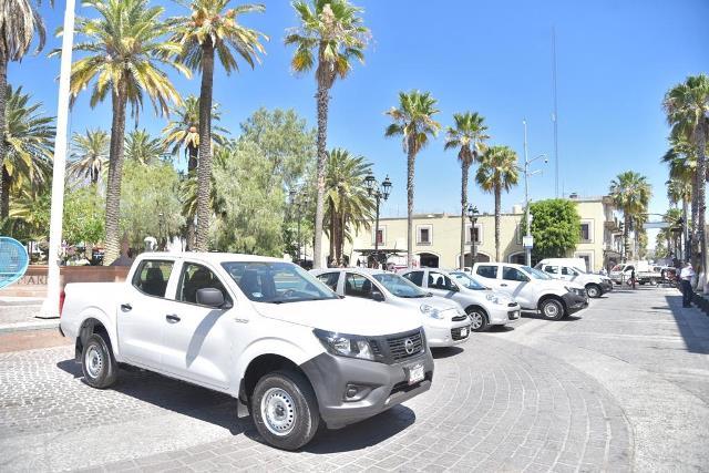 ¡Invierte el Municipio de Jesús María en parque vehicular!