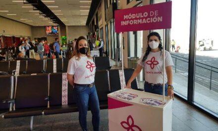 "¡Instituto Municipal de la Mujer implementa módulo itinerante del programa ""Agentes Rosas""!"