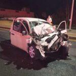 ¡Choque entre camioneta y auto en Zacatecas dejó 1 muerto y 2 lesionados!