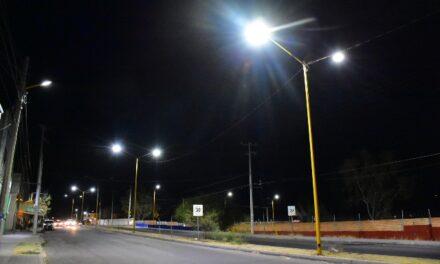 ¡Municipio de Aguascalientes reporta avance del 98.9% en instalación de luminarias led!