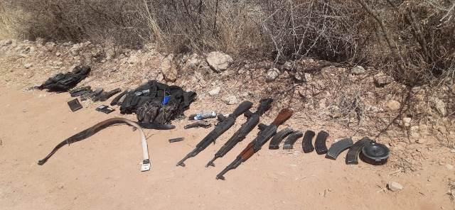 ¡Vincularon a proceso a 4 sicarios detenidos con un arsenal en Encarnación de Díaz!