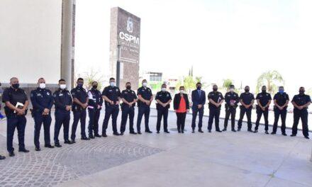 ¡Policía Municipal redoblará esfuerzos para brindar mayor seguridad a la ciudadanía!