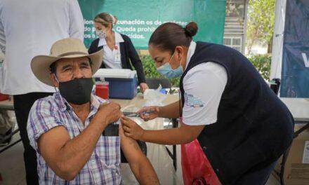 ¡Se han aplicado 53 mil 750 dosis de la vacuna contra el COVID-19 en Aguascalientes!