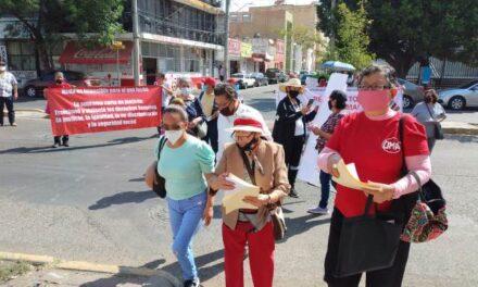 ¡Siguen inconformes jubilados del ISSSTE por la reforma al pago de su pensión!