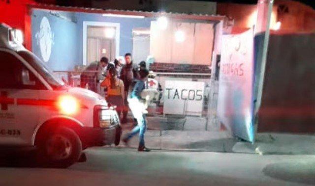 """¡Ejecutaron a """"El Chilango"""" en su puesto de venta de tacos en Fresnillo!"""
