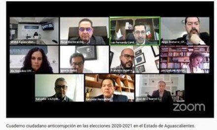 ¡Presentan Cuaderno Ciudadano Anticorrupción en las elecciones!