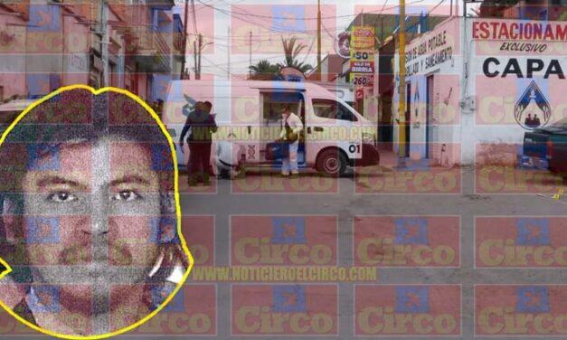 """Ejecutan a """"El Shampoo"""" saliendo de su trabajo en Jesús María, Aguascalientes"""