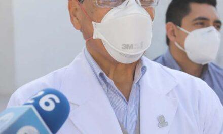 ¡Baja la hospitalización por COVID y se recuperan áreas de atención a enfermedades en las instituciones de salud del Estado: Miguel Ángel Piza Jiménez!