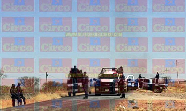 Mueren calcinados 4 policías estatales al ser atacados por delincuentes en Villa de Cos