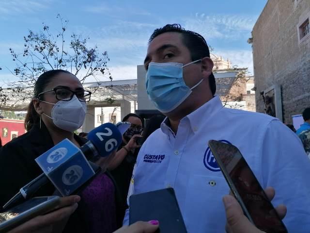 ¡Candidatos deben realizarse prueba anti COVID para evitar ser foco de contagio: Gustavo Báez Leos!