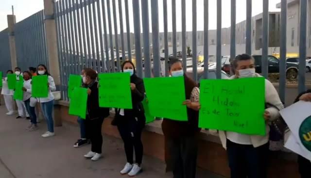 ¡Personal del Hospital Miguel Hidalgo exige bono COVID: Francisco Javier Araiza!
