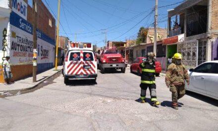 ¡Incendio domiciliario en Aguascalientes dejó 2 menores muertos y 3 lesionados!