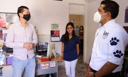 ¡Se reunió Leo Montañez con asociaciones dedicadas a la protección de los animales!