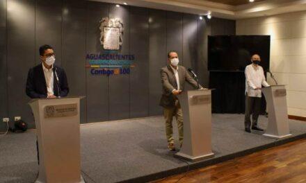 ¡Inicia jornada de vacunación a maestros de Aguascalientes, anunció el gobernador Martín Orozco Sandoval!