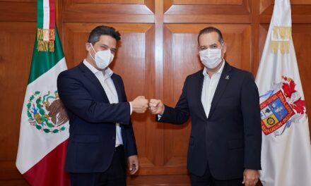 ¡Se reúne gobernador con embajador de México en Alemania!