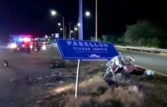 ¡Motociclista murió tras estrellarse contra un objeto fijo en Aguascalientes!