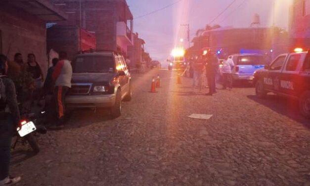 ¡Adulto mayor murió atropellado por una camioneta en Calvillo, Aguascalientes!