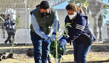 ¡Municipio y vecinos realizan actividades ambientales en el norte de la ciudad!