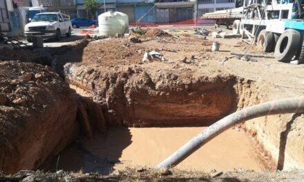 ¡CCAPAMA llama a tomar precauciones por obra de perforación de pozo!