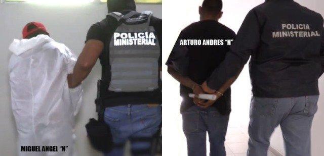 """¡Detuvieron a 2 sicarios por la doble ejecución de los hermanos """"Los Gemelos"""" en Aguascalientes!"""
