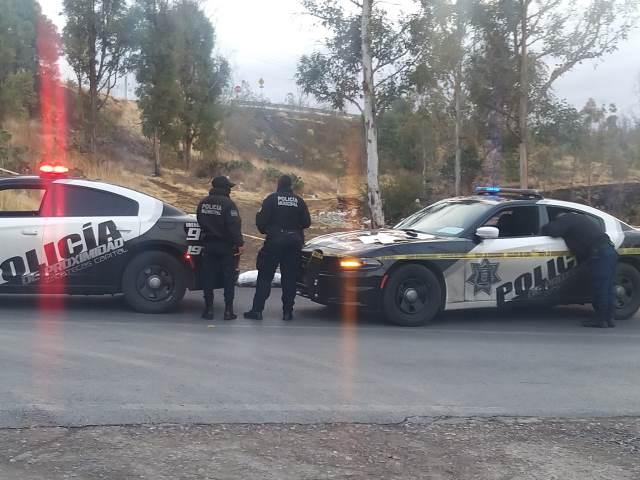 ¡Hallaron a hombre ejecutado y embolsado en Paseo a la Bufa en Zacatecas!