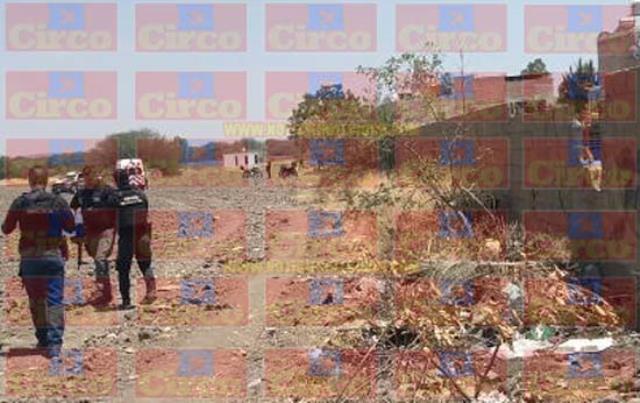¡Hallaron a un hombre ejecutado en un campo de cultivo en Lagos de Moreno!