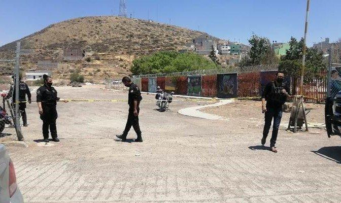 ¡Ejecutaron a un hombre en un taller de hojalatería y pintura en Zacatecas!