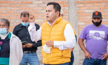 ¡Anuncia Arnulfo Flores instalación de Huerto Urbano Comunitario en Pabellón de Arteaga!