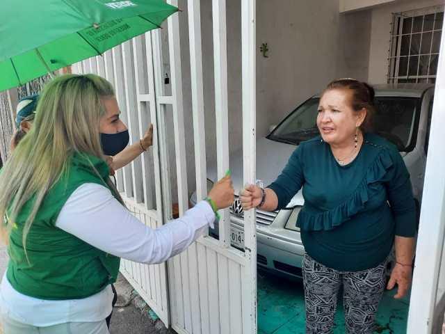 ¡Cristal Ponce, candidata a diputada por el Partido Verde, propone que actas de nacimiento ya no tengan costo!