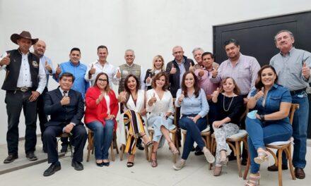 ¡El Arqui Noel une esfuerzos con diputados y ex legisladores federales para retomar el rumbo de México!