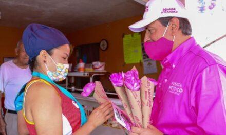 ¡Como presidente municipal de Aguascalientes crearé la Secretaría de la Mujer: Luis Armando!