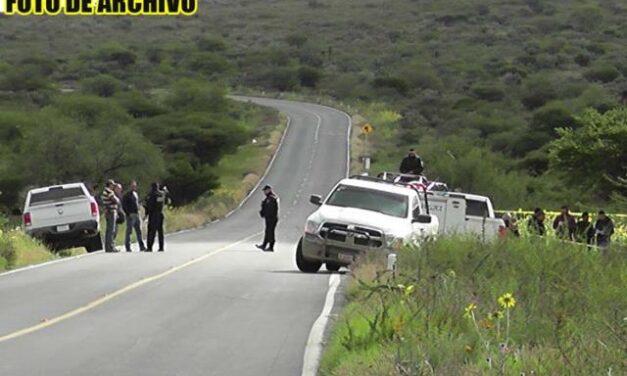 ¡Hallaron a hombre ejecutado y semi-desnudo en Cieneguitas, Guadalupe!
