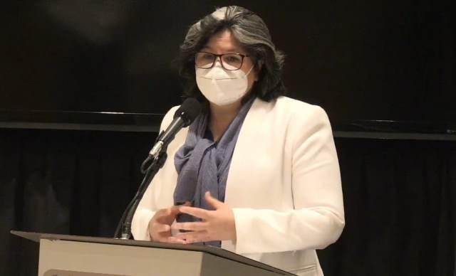 ¡Circula en el Estado cepa california, variante de coronavirus más contagiosa: María Eugenia Velasco Marín!